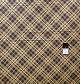 Denyse Schmidt PWDS032 Chicopee Simple Plaid Black Fabric By Yard
