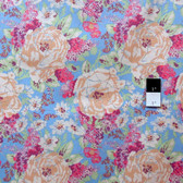 Melissa White PWMW019 Amelie's Attic Edgars Bouquet Opulent Fabric By The Yard