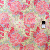 Melissa White PWMW019 Amelie's Attic Edgars Bouquet Sunbleached Fabric By Yard