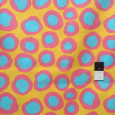 Brandon Mably BM07 Fish Lips Happy Quilt Cotton Fabric By The Yard