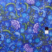 Dena Designs PWDF139 The Painted Garden Blossom Peacock Fabric By The Yard