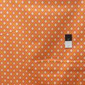 Dena Designs PWDF171 Tangier IKAT Diamond Orange Fabric By TheYard