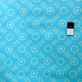 Erin McMorris PWEM040 LaDeeDa Flora Dots Solid Aqua Fabric By The Yard