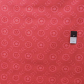 Erin McMorris PWEM040 LaDeeDa Flora Dots Tomato Fabric By The Yard