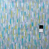 Erin McMorris PWEM036 LaDeeDa Fiddlesticks Aqua Fabric By The Yard