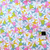 Erin McMorris PWEM037 LaDeeDa Oppsy Daisy Pink Fabric By The Yard