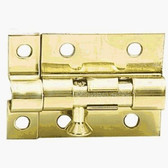 "766XC 1 1/2"" x 2"" Solid Brass Door Bolt"