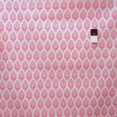 Dena Designs LIDF002 Sunshine Ornament Pink Linen Fabric By Yard