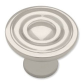 P50141-PN Round Ring Polished Nickel Cabinet Drawer Pull Knob