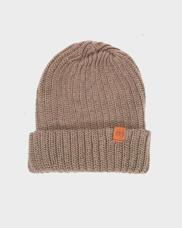 Knit Cap, Light Brown