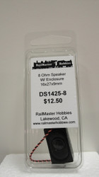 DS1425-8 Rail Master / Speaker Small TO USE in the loco CAB 8 Ohm (Scale=HO) Part # = RMT-DS28E