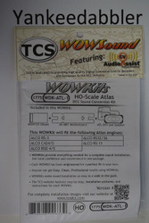 1775 TRAIN CONTROL SYSTEM - TCS /  ATLAS {WOW WDK-ATL-1} DIESEL Version 4 CONVERSION KIT - HO Scale  YankeeDabbler Part  # 745-1775