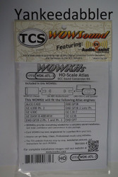 TRAIN CONTROL SYSTEM - TCS /  ATLAS {WOW WDK-ATL-3} DIESEL Version 4 CONVERSION KIT - HO Scale  YANKEEDABBLER PART # 745-1773
