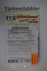 TRAIN CONTROL SYSTEM - TCS /  Athern {WOW WDK-ATH-7} DIESEL Version 4 CONVERSION KIT - HO Scale  YankeeDabbler Part # 745-1755