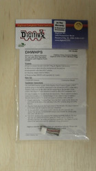 DHWHPS Digitrax / Wire harness short  (Scale = HO)  Part # 245-DHWHPS