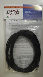 LNC82 Digitrax / 8' LocoNet Cable       2/  (Scale = ALL)  Part # 245-LNC82