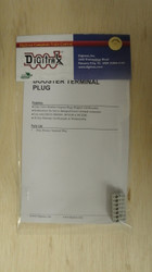 TERMPLUG Digitrax / Gray Terminal Plug  (Scale = ALL)  Part # 245-TERMPLUG