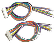 Ring Engineering / DCC 9 Pin Wire Harness/2 (Scale=HO) YANKEEDABBLER Part # = 634-WH9