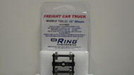 "Ring Engineering / Truck w/33"" Wheels (Scale=HO) YANKEEDABBLER Part # = 634-TRK33"