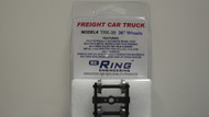 "Ring Engineering / Truck w/36"" Wheels (Scale=HO) YANKEEDABBLER Part # = 634-TRK36"