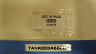 218 NCE /  LED Pack -- 3mm Golden Glow LEDs pk (SCALE=ALL) Part # = 524-218