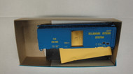 (HO SCALE) Bev-Bel-66-239-3 Delaware Otsego System and  Stenciled Print and  GN Big Sky Blue...