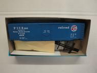 444-1 (HO SCALE) Bev-Bel-66-444-1 Pickens Railroad 50  Plug Door Boxcar PICK 40039