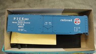 444-2 (HO SCALE) Bev-Bel-66-444-2 Pickens Railroad 50  Plug Door Boxcr PICK 40053