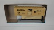 461-2 (HO SCALE) Bev-Bel-66-461-2 Atlantic and Western Railroad 40  Steel Boxcar ATW 2059