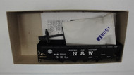 (HO SCALE) Bev-Bel-66-473-2 Norfolk and Western 40  Open Top Quad Hopper N and W 77065