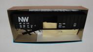 527-5 (HO SCALE) Bev-Bel-66-527-5 Norfolk and Western 50  A.C.F. Rail Boxcar NW 57710