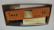 532-2 (HO SCALE) Bev-Bel-66-532-2 Hartford and Slocomb 50  ACF Rail Boxcar H and S 2078