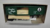 808-1 (HO SCALE) Bev-Bel-66-808-1 Canadian Pacific 50  Steel Double Door Boxcar CP 200027