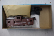 862-1 (HO SCALE) Bev-Bel-66-862-1 Delaware and Hudson 29  Wide Vision Caboose D and H 35798
