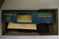 1108-2 (HO SCALE) Bev-Bel-66-1108-2 Louisville and Nashville 50  Steel Double Door Boxcar L and N 102058