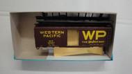 (HO SCALE) Bev-Bel-66-1116-1 Western Pacific The Western Way 40  Single Door Boxcar WP 20321