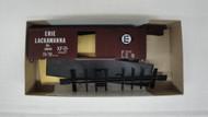 1141-1 (HO SCALE) Bev-Bel-66-1141-1 Erie Lackawanna 40  Single Door Boxcar EL 32043