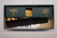 1765-2 (HO SCALE) Bev-Bel-66-1765-2 Maine Central 50  Steel Single Door Boxcar MEC 8547