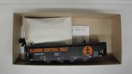 "1914 (HO SCALE) Bev-Bel-66-1914 Illinois Central Gulf ""I-Rail""  Black with Orange Print   334677"