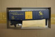 "1933-2 (HO SCALE) Bev-Bel-66-1933-2 Chesapeake and Ohio ""Cushion Underframe""  Dark Blue and Silver..."