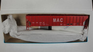 1963 (HO SCALE) Bev-Bel-66-1963 Manning Agriculture Center 54  PS Ribside Hopper MAC 46157