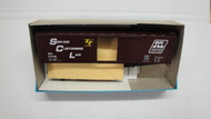 1979 (HO SCALE) Bev-Bel-66-1979 Seaboard Coast Line 50  Single Door Boxcar SCL 813168