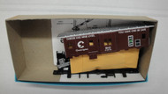 (HO SCALE) Bev-Bel-66-2219-2 Chessie System - B and O 37  Bay Window Safety Caboose B and O 3714
