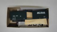 2247-2 (HO SCALE) Bev-Bel-66-2247-2 British Columbia Railway 50  Steel Single Door Boxcar BCOL 5584