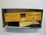 2275 (HO SCALE) Bev-Bel-66-2275 Delaware and Hudson 50  Single Door Boxcar D and H 22112