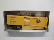 2276 (HO SCALE) Bev-Bel-66-2276 Delaware and Hudson 50  Single Door Boxcar D and H 23009