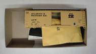 2279 (HO SCALE) Bev-Bel-66-2279 Atlantic and Western 40  Steel Single Door Boxcar ATW 2007