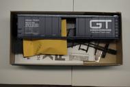 2284 (HO SCALE) Bev-Bel-66-2284 Grand Trunk Western 50  Steel Single Door Boxcar GTW 595382