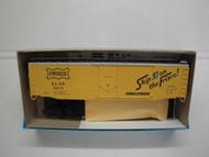 2333-1 (HO SCALE) Bev-Bel-66-2333-1 St Louis and San Francisco 50  Plug Door Boxcar SLSF 8213
