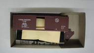2393 (HO SCALE) Bev-Bel-66-2393 Illinois Northern 40  Woodside Single Door Boxcar IN 1634